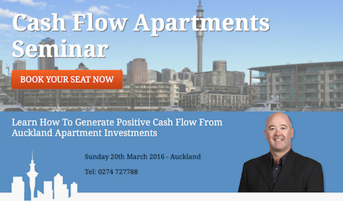 Auckland Cash Flow Apartments Seminar – 2016